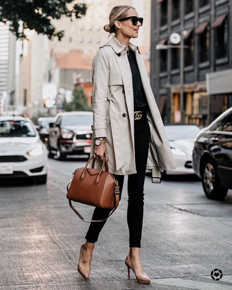 Clothing, Street fashion, Coat, White, Trench coat, Fashion, Outerwear, Snapshot, Brown, Footwear,