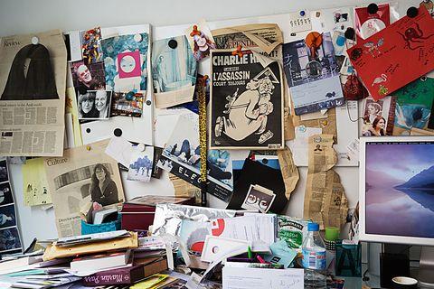 Bulletin board, Art, Room, Design, Visual arts, Illustration, Collage, Interior design, Graphic design, Display board,