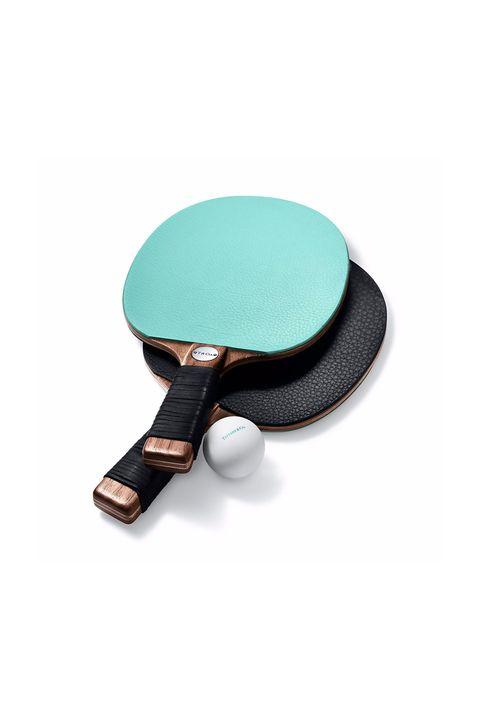 Colección hogar de Tiffany and Co.: Raquetas pin pon