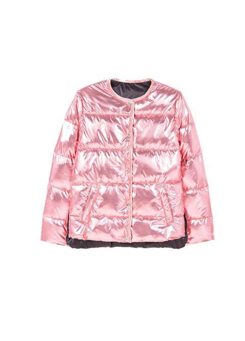 Clothing, Outerwear, Pink, Sleeve, Jacket, Blazer, Windbreaker, Top, Sweater, Coat,