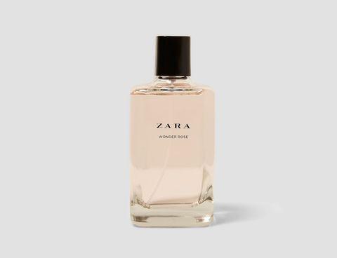 Perfume, Product, Liquid, Fluid, Glass bottle, Bottle, Beige, Cosmetics,