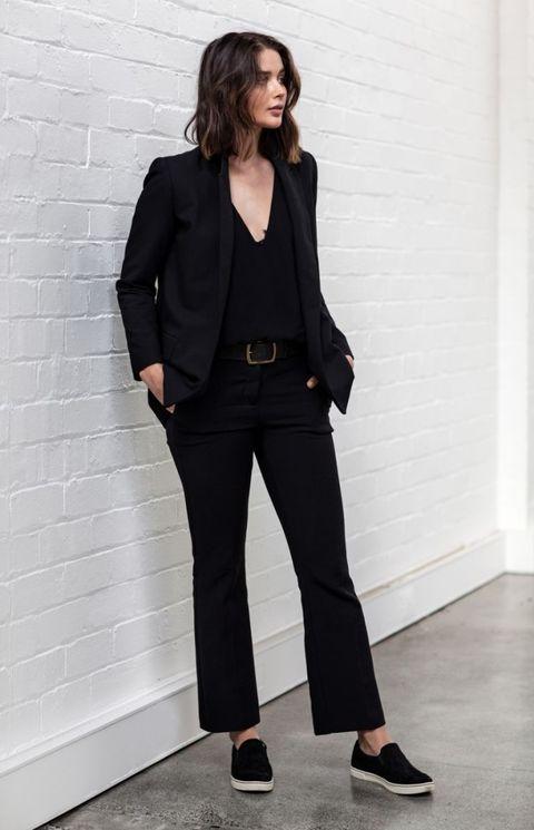 23 Looks Para Combinar Un Pantalón Negro Normal