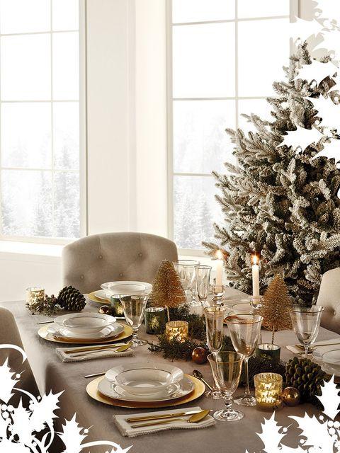 a3937c38400b Mesas de Navidad: elige tu estilo