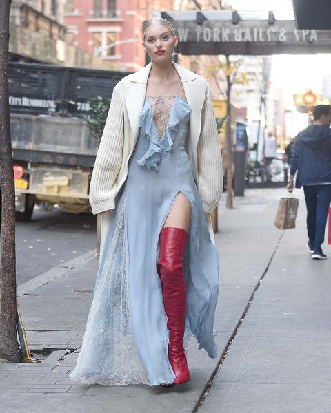 Street fashion, Fashion, Clothing, Fashion model, Dress, Haute couture, Outerwear, Fashion design, Gown, Style,