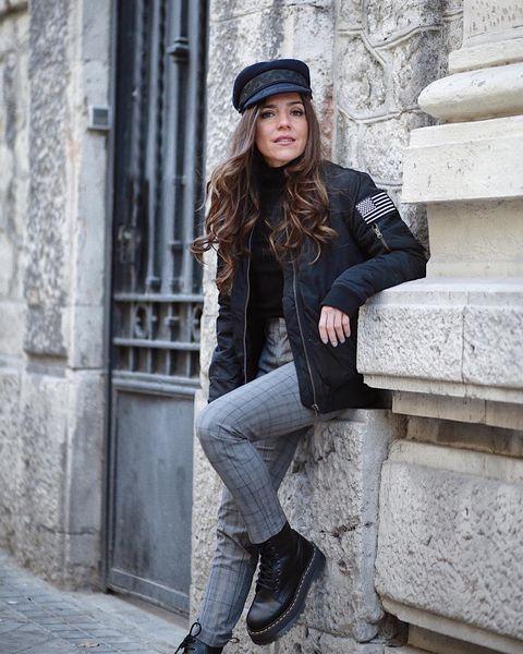 Así llevarás la gorra marinera este otoño invierno según Instagram. cfa3e47f179