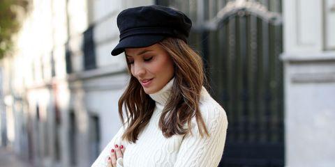3af0fa8463d31 Así llevarás la gorra marinera este otoño invierno según Instagram.