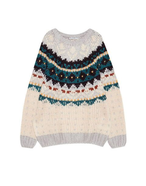 Clothing, White, Wool, Blue, Turquoise, Beige, Outerwear, Woolen, Sweater, Sleeve,