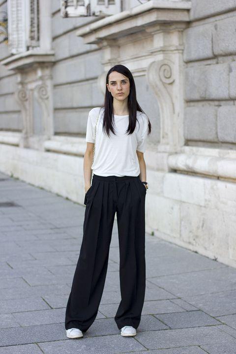 Como Llevar Pantalones Palazzo Aunque Seas Bajita