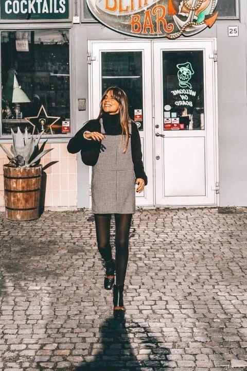 Estos 18 looks de las fashionistas reinas de Instagram te dan las claves para lucir el pichi esta temporada.