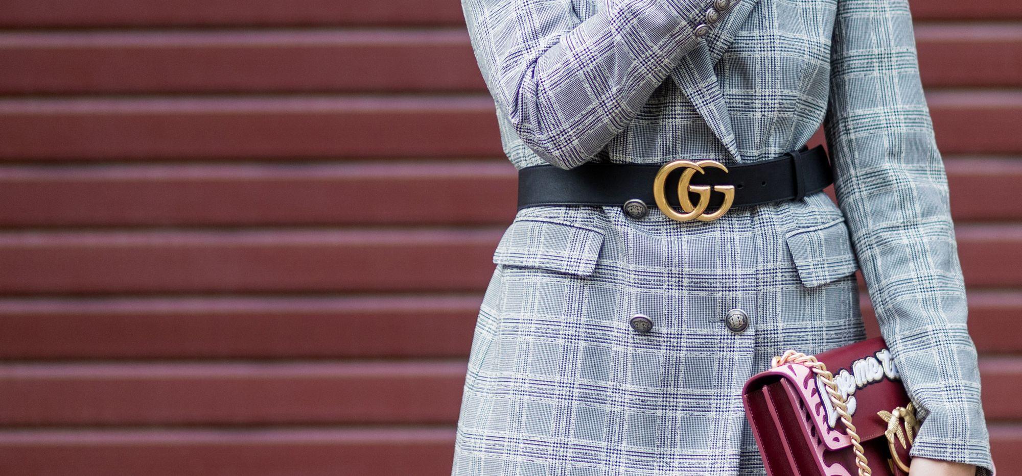 H M tiene la versión  low  del cinturón más buscado - La versión  low  del  cinturón de Gucci 953631e6dde
