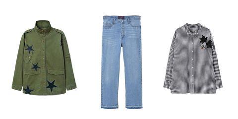 Clothing, Denim, Jeans, Outerwear, Pattern, Fashion, Textile, Trousers, Pocket, Pattern,