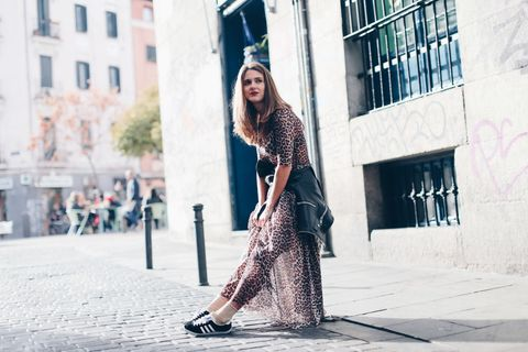 Street fashion, Clothing, Photograph, Fashion, Beauty, Snapshot, Footwear, Dress, Outerwear, Leg,