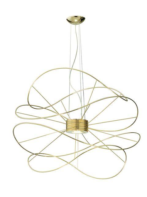 Lámpara Hoops, de Axo Light, diseño de Giovanni Barbato
