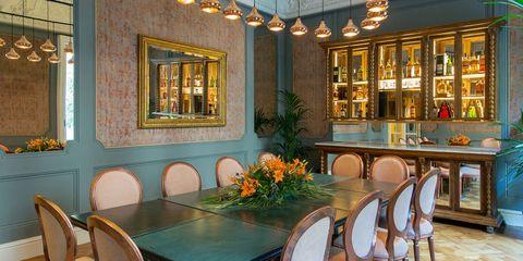 Room, Building, Property, Dining room, Interior design, Real estate, Restaurant, Furniture, Table, Estate,