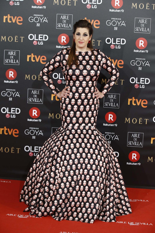 0775e5b2d La peor vestidas de los Goya 2018