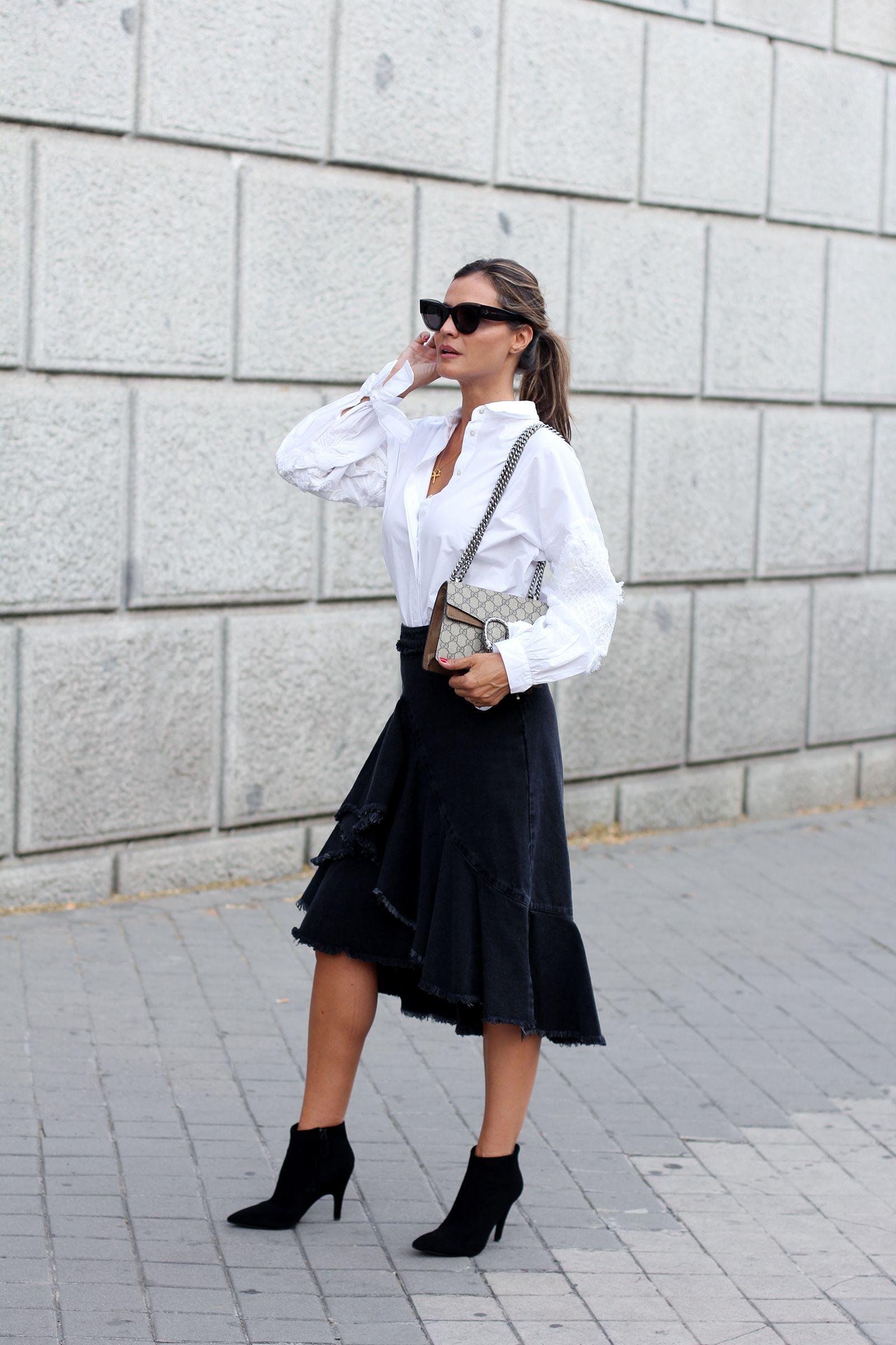 Camisa blanca: cómo usarla correctamente en tu look diario.