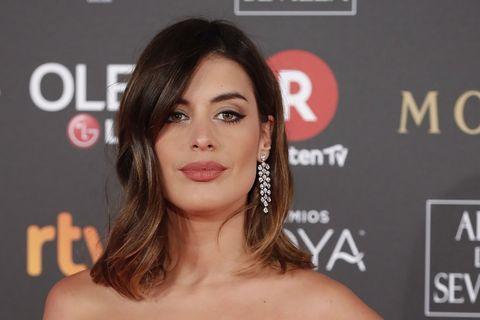 "Aida Domenech "" Dulceida "" at photocall during the 32th annual Goya Film Awards in Madrid, on Saturday 3rd February, 2018."