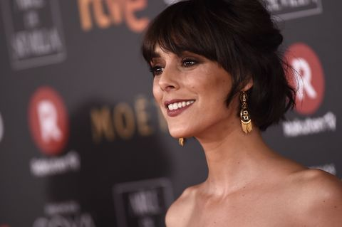 Actress Belen Cuesta at photocall during the 32th annual Goya Film Awards in Madrid, on Saturday 3rd February, 2018.