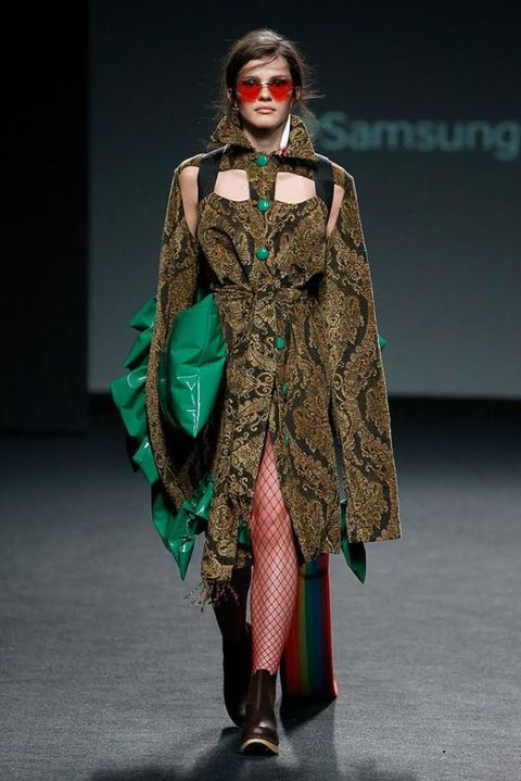 Fashion, Clothing, Fashion model, Runway, Fashion design, Fashion show, Costume design, Event, Dress, Costume,