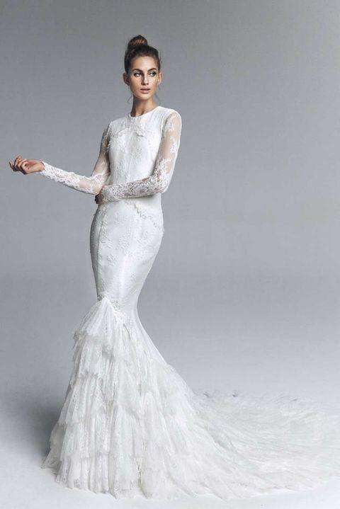 los vestidos de novia de 'victoria' de vicky martín berrocal arrasan