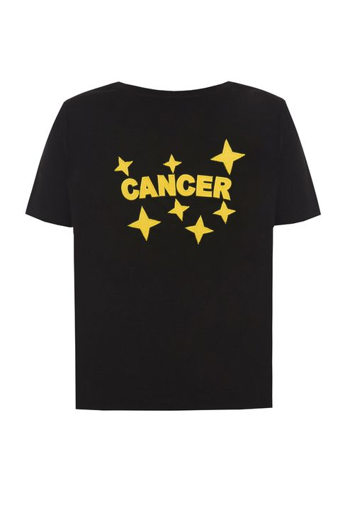 T-shirt, Clothing, Black, Active shirt, Yellow, Product, Sleeve, Top, Text, Font,