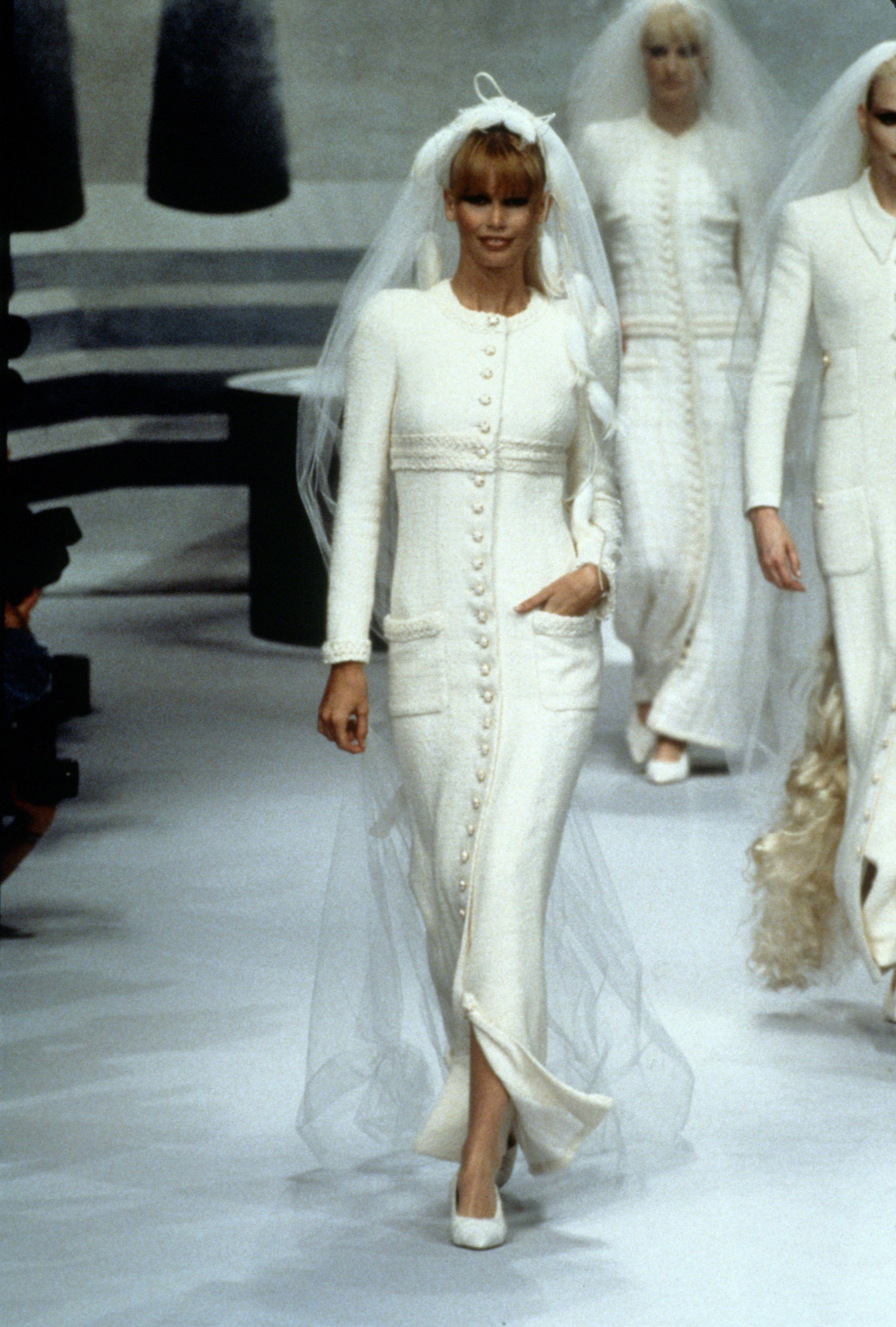 Los vestidos de novia de Chanel a través de la historia