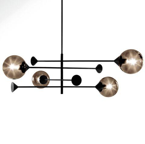 Lámpara en suspensión Kendama, de Massimo Zazzeron