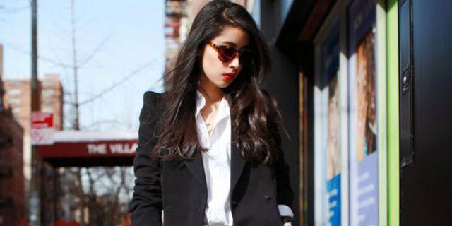 25 formas de llevar una blazer negra