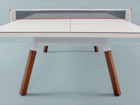 Mesa de ping pong: Estilo deportivo