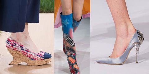 brand new a828b f52cd Scarpe, scarpe e scarpe: tutte le più belle viste alle ...