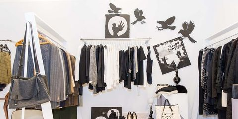 Room, Clothes hanger, Collection, Home accessories, Fashion design, Retail,