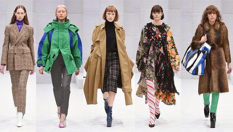 Footwear, Human, Winter, Sleeve, Coat, Textile, Outerwear, Style, Pattern, Street fashion,