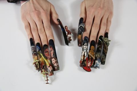 Finger, Nail, Style, Collection, Stationery, Silver, Cosmetics,