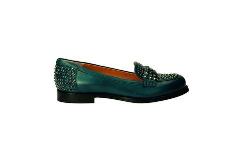 Shoe, Teal, Tan, Aqua, Turquoise, Dress shoe, Synthetic rubber, Walking shoe, Ballet flat, Outdoor shoe,