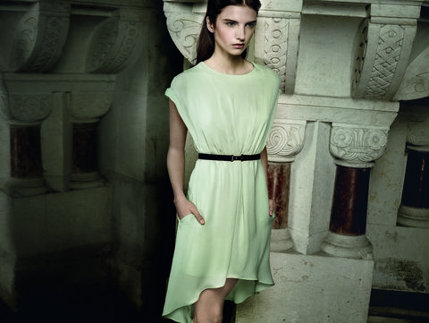Clothing, Sleeve, Dress, Shoulder, Photograph, Joint, Standing, One-piece garment, Style, Formal wear,