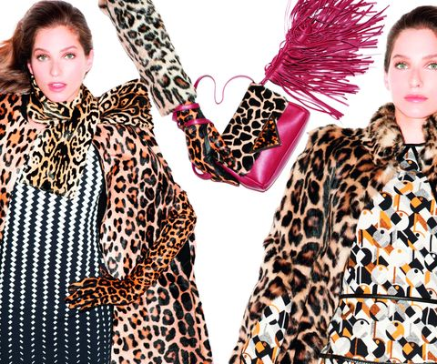 Animalier: total look. Scarpe e borse maculate e tigrate un mix di abiti e accessori graffianti