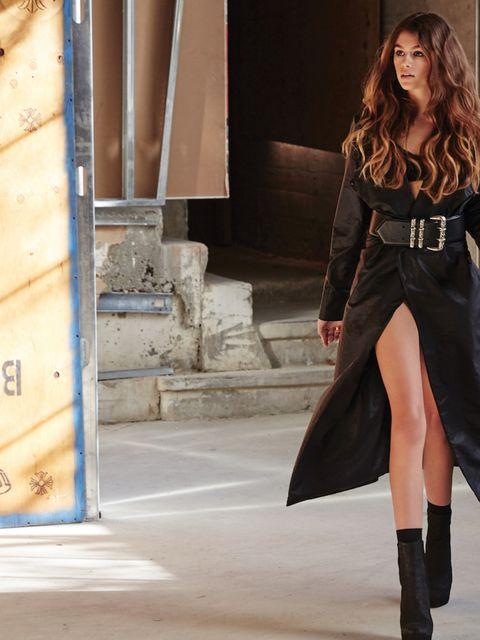 Clothing, Leg, Human body, Textile, Style, Street fashion, Fashion model, Fashion, Knee, Model,