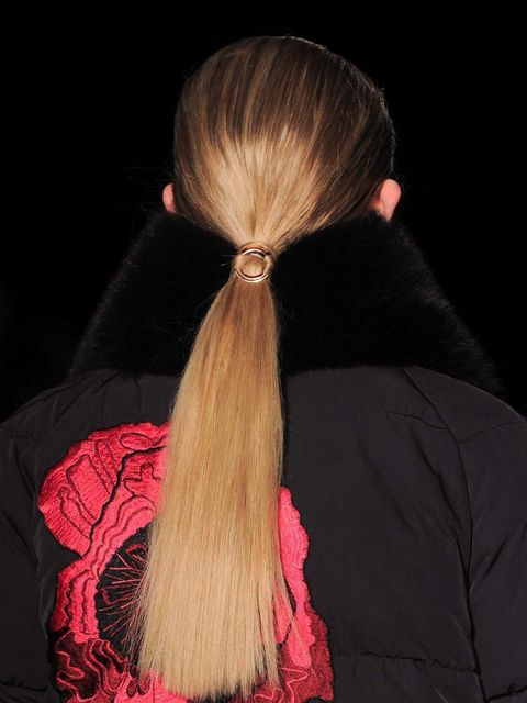 Hairstyle, Textile, Red, Style, Hair accessory, Costume accessory, Carmine, Neck, Long hair, Darkness,