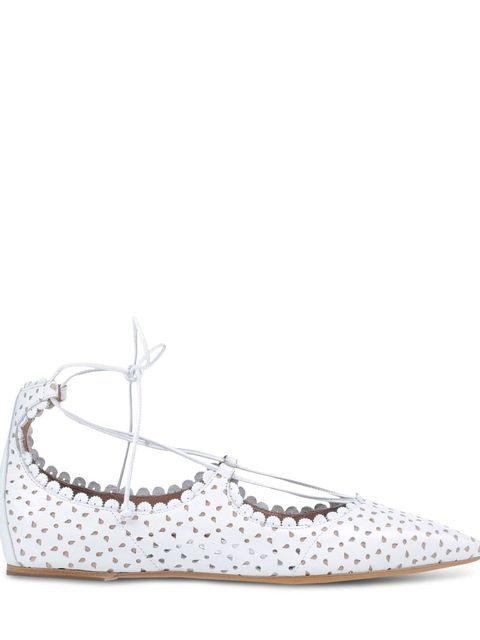 Shoe, White, Grey, Pattern, Beige, Natural material, Silver, Stitch, Embellishment,
