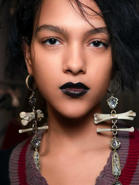 Nose, Lip, Cheek, Hairstyle, Skin, Chin, Forehead, Earrings, Eyelash, Eyebrow,