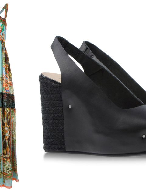 Textile, Dress, One-piece garment, Pattern, Fashion, Black, Day dress, Teal, Leather, Fashion design,