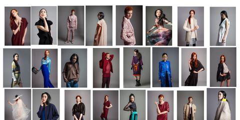 Sleeve, Textile, Pattern, Purple, Formal wear, Electric blue, Fashion, Costume, Street fashion, Cobalt blue,