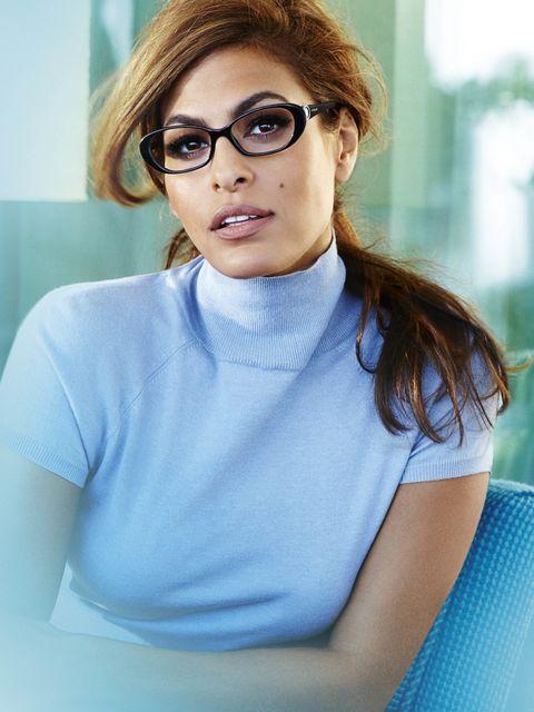 Eyewear, Hair, Glasses, Vision care, Lip, Mouth, Sleeve, Collar, Shoulder, Fashion,
