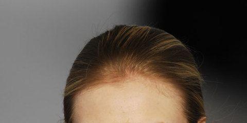 Hair, Head, Nose, Ear, Lip, Eye, Hairstyle, Chin, Forehead, Shoulder,