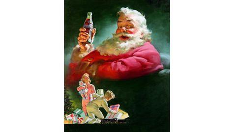 Coca Cola Babbo Natale.Babbo Natale E Coca Cola Le Immagini Degli Spot Storici