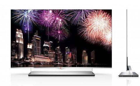 Nature, Event, Display device, Television set, Flat panel display, Photograph, Violet, Purple, Magenta, Pink,