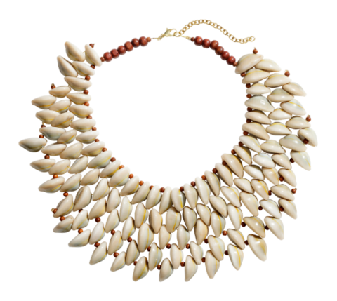 Brown, White, Jewellery, Natural material, Beige, Ivory, Circle, Body jewelry, Jewelry making, Bead,