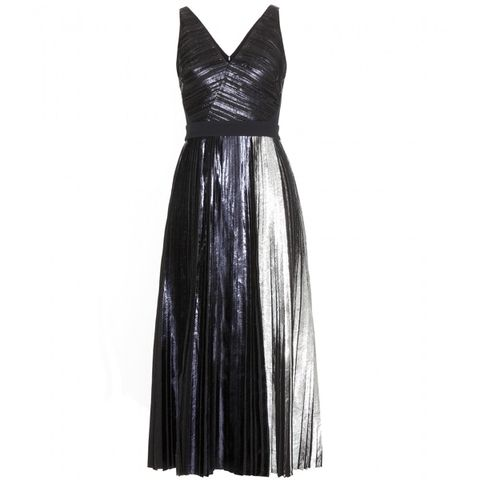 Dress, Style, One-piece garment, Black, Costume design, Day dress, Fashion design, Velvet, Costume, Pattern,