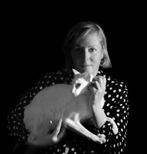 Carnivore, Flash photography, Dog breed, Monochrome photography, Canidae, Companion dog, Polka dot, Portrait photography, Non-Sporting Group, Portrait,