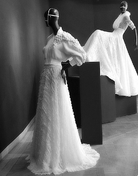 Event, Gown, Dress, White, Formal wear, Style, Wedding dress, Costume design, Bridal clothing, Fashion,